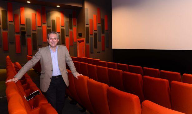Rob Arthur, the lease holder of the Prestatyn Scala cinema (Credit: Daily Post)