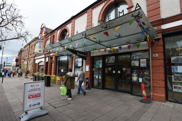 Prestatyn's Scala Cinema (Credit Daily Post - March 2015)