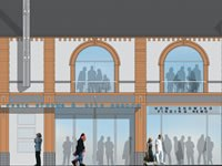 Architects impression of the Prestatyn Scala cinema.